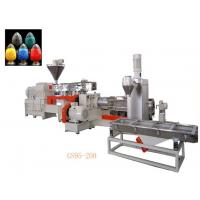 China Double Stage Filler Masterbatch Production Line Temperature Control System wholesale