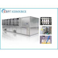 Buy cheap CBFI 20 Tons Large Ice Cube Machine Commercial With Semi Automatic Packing System from wholesalers