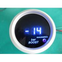 China Blue Red Light Universal Auto Gauges , Turbo Digital Gauges For Cars wholesale