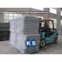 China Double Twisted Gabion Box Retaining Wall Structure Wire Diameter 2.7mm wholesale