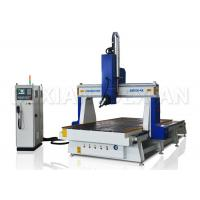 China 4.5kw / 9kw 4 Axis Cnc Router Machine For Woodworking Italy HSD Air Cooling Spindle on sale