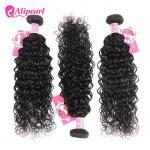 China 8A Quality Virgin Brazilian Human Hair Bundles Water Wave No Oiled Gloosy wholesale