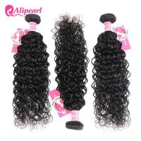 China 8A Quality Virgin Brazilian Human Hair Bundles Water Wave No Oiled Gloosy wholesale