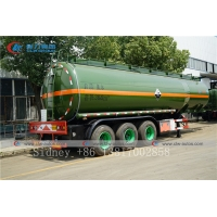 Buy cheap 3 Axle 36cbm chemicals Liquid Ammonia Transport Tanker Semi Trailer for Sale from wholesalers