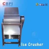China CBFI Stainless Steel 304 Ice Crusher Machine For Bars / Fast Food Shops wholesale