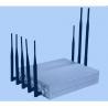 China Desktop 8 Channel Mobile Jammer Device CDMA / GSM Signal Jammer wholesale