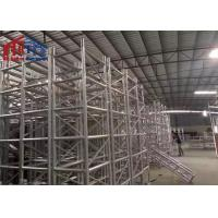 Big Outdoor Aluminum Light Truss System 400mm*400mm Size For Wedding Party