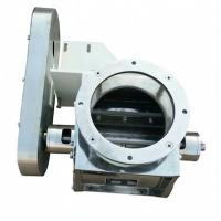Sanitary type rotary airlock valve inside polished
