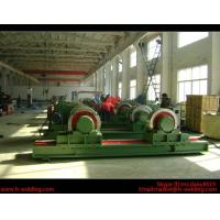 China 5 Ton Bolt Adjustable Steel Tank Welding Pipe Roller Rotator , Cylinder  Turning Roll Machine wholesale