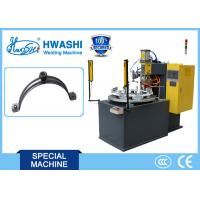 China Steel Pipe Clamp / Pipe Hold Welding Machine, CNC Spot Welding Machine With Rotary Table wholesale