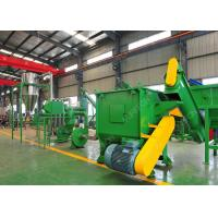 Quality 500 Kg / H PE Packing Plastic Film Recycling Machine , PP Agricultural Plastic for sale