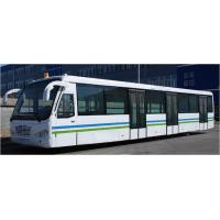 China Custom 77 Passenger Ramp Bus Airport Tarmac Bus , <13500mm Turning Radius wholesale