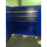 China 90 Gallon Venting Flammable Cabinets , Pesticide Storage Cabinets For Corrosive Liquids wholesale
