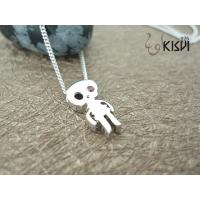 China 925 sterling silver necklace with zircon W-VD157 wholesale