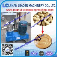 China According to the customer request high quality peanut butter maker machine wholesale