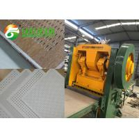 China Gypsum Board Perforated Sheet Making Machine For Ceiling And Wall Decoration on sale