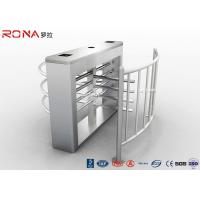 China Security Half Height Turnstiles High Transit Speed Access Control System wholesale