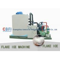 China Customized 10 Tons Flake Ice Machine CBFI Compressor R22 Refrigerant wholesale