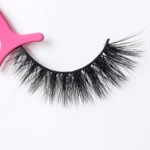 China Full Strip 3D Mink Lashes Mink Fur Eyelash Extensions Natural Looking wholesale