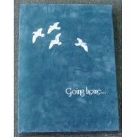 China Peaceful Dove Going Home Funeral Memorial Books Ceremony  Register wholesale
