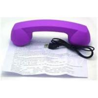 China Cordless volume control Retro Bluetooth Phone Handsets with rubber painting material wholesale