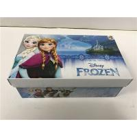 China Foam Inside Colored Shoe Boxes , Decorative Shoe Boxes For Girls Shoes CMYK wholesale