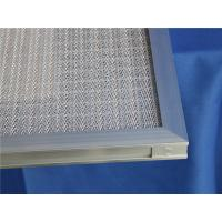 Quality G2 Metal Air Filter Frames Ventilation Systems High Temperature Filter Media for sale