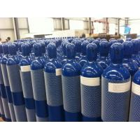 China Steel Seal High Pressure 10L / 15L / 20L Compressed Gas Cylinder For High Purity Gas wholesale