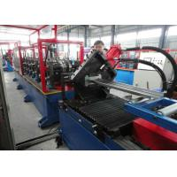 China Automatic roller Door Frame Roll Forming Machine , sheet profile cold roll forming machine wholesale