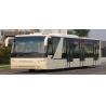 Buy cheap Low floor airport shuttle bus luxury passenger bus Cummins Engine from wholesalers