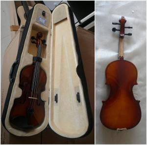 China Popular 3/4 Size Folk Primary Handmade Violin Flamed Maple back AGV-2 wholesale