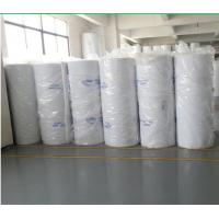China Flexible 560g F5 Spray Booth Ceiling Thin Air Filter Material With Surface Glue wholesale