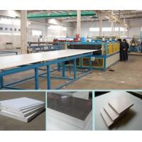 Buy cheap 3-18mm PVC Crust Foamed  plastic Board machine  good price in china from wholesalers