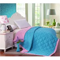 China Filling Colorful Double Face Binding Microfiber Quilt Set Comforter For Summer on sale