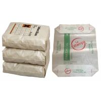 China 50 Kg PP Block Bottom Valve Bags Polypropylene Woven Cement Bags on sale