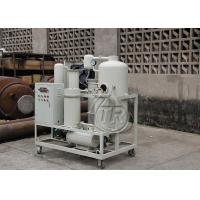 China Professional Turbine Oil Filtration Machine Remove Water Content / Impurities on sale