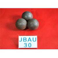 China 62-63HRC Surface hardness Durable Wear Resistance Grinding Balls For Ball Mill , Hot Rolling Steel Balls for Mines wholesale