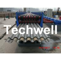 China 50Hz, 3 Phase Silo Steel Corrugated Sheet Roll Forming Machine With 18 Stations wholesale