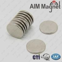 China Rare earth disc round strong permanent magnet D13x1.5mm D13x2mm wholesale