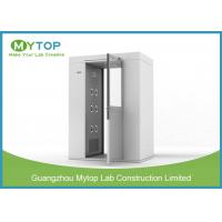 China 304 SS Air Shower Clean Room Lab Equipment Passage For Pharmaceutical Factory on sale