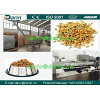 China DARIN Twin Screw dog food extruder with ISO , Feed Pellet Production Line wholesale