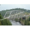 China Prefabricated Delta Assembly Modular Steel Truss Bridge With Concrete Deck High Stiffness wholesale