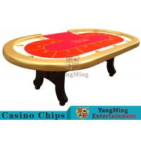 China High Elasticity Sponge Foreskin h Feet Texas Holdem Poker Table 2600*1400*800mm wholesale