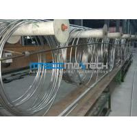 China TP304 Stainless Steel Coiled Tubing ASTM A269 wholesale