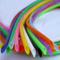 China Odorless High Temp Silicone Tubing Food Grade Round Shaped For Medical Devices wholesale