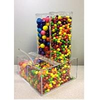 Quality Eco-Friendly Candy Acrylic Display Cases Storage Box Dispenser for sale