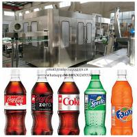 China Automatic Carbonated Beverage Production Line / 3-In-1 Soft Drink Filling Machine on sale