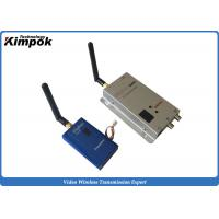 Buy cheap 12 Channels Small Size CCTV Wireless Video Transmitter And Receiver 1000mW DC 12V from wholesalers