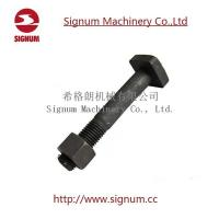 China Track Bolt For Rail Construction 45# Steel, Railway parts supplier Track Bolt wholesale