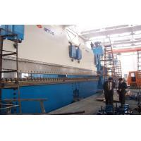 China Large CNC Tandem Press Brake Machine For Bending Steel Plate 2-600T /  6000mm wholesale